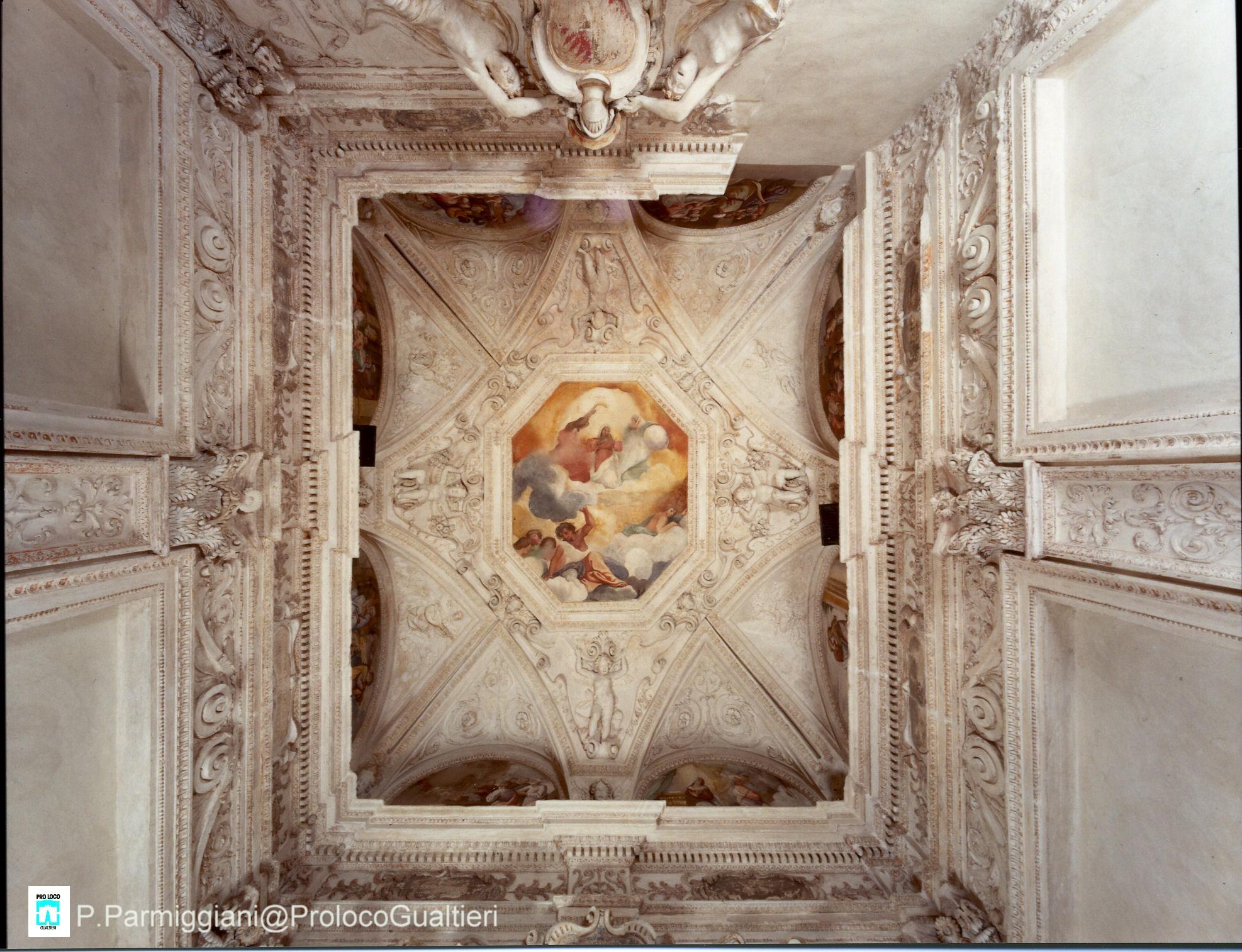 Soffitto A Volta Affrescato : Soffitto a volta affrescato affreschi di rivestimento del