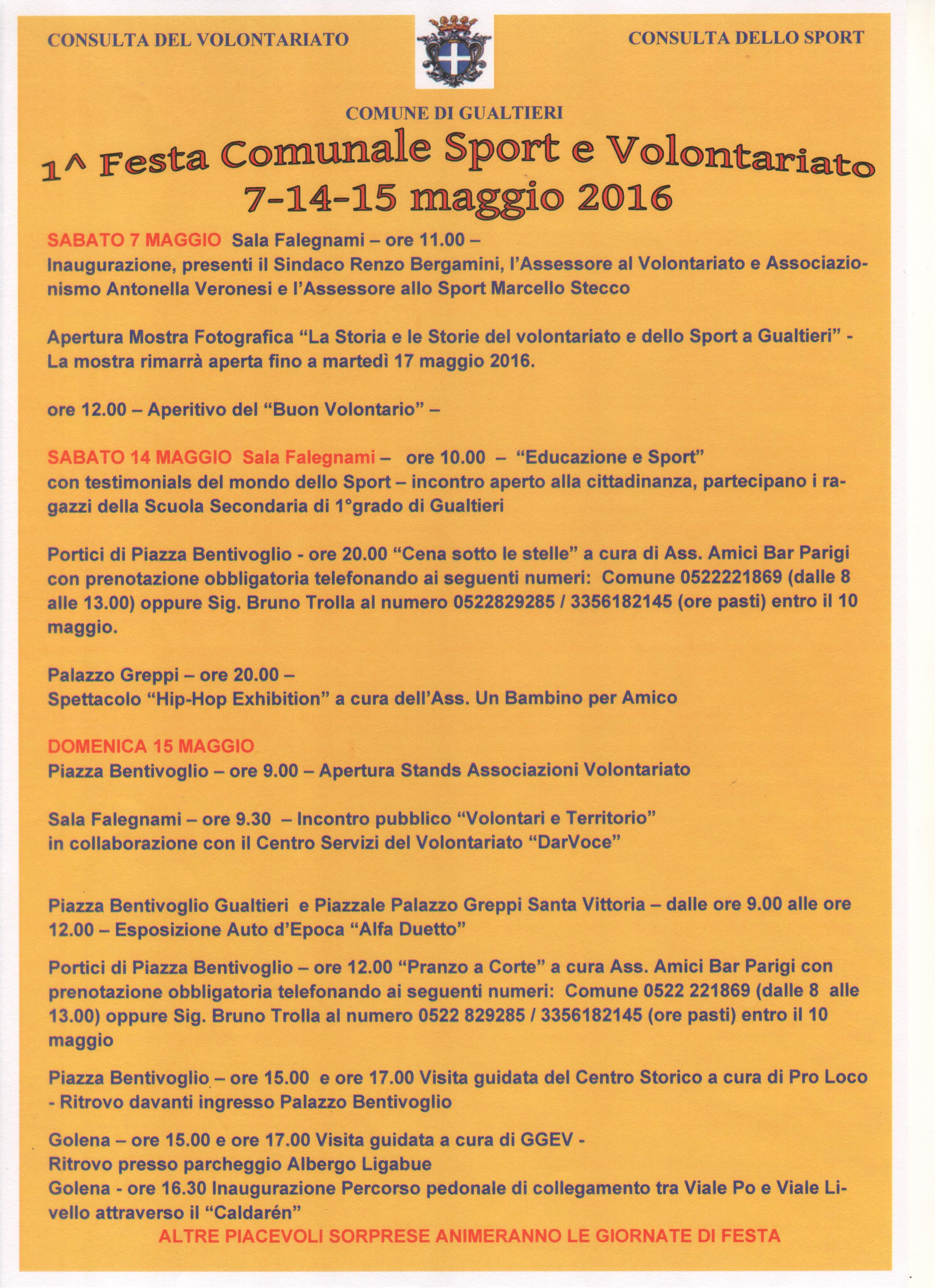 ProLoco, festa, volontariato, Gualtieri 001